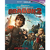 How To Train Your Dragon 2 Blu-Ray + Digital Hd Uv