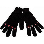 Insight Salt and Pepa Gloves - Dark Carbon - Black