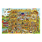 Bigjigs Toys BJ016b Castle Floor Puzzle (48 Piece)