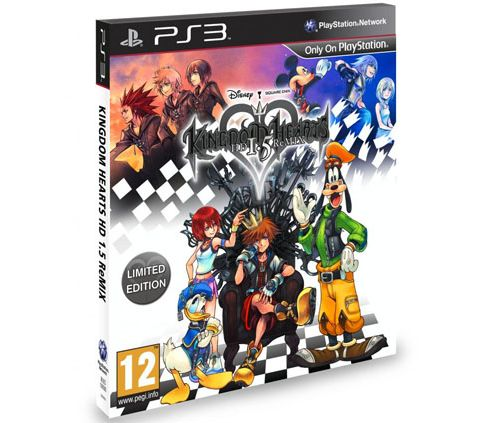 Kingdom Hearts 1.5 Remix Limited Edition