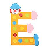 Tatiri TA405 Crazy Clown Wooden Letter E
