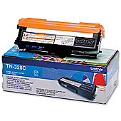 Brother TN-328C toner cartridge - Cyan