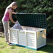 "4'7"" x 2' 0"" Plastic Garden Store Bench (1.4m x 0.61m)"