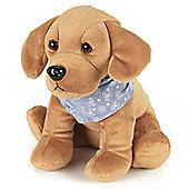 Intelex Cozy Microwavable Pets Alfie the Labrador Plush Toy
