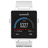 Garmin Vivoactive Activity Tracking GPS Smartwatch, White