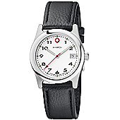 M-Watch Swiss Made Drive Unisex Date Display Watch - A661.30229.01