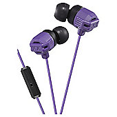 JVC HA-FR202 In-Ear Headphones - Violet