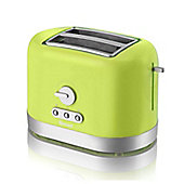 Swan 2 Slice Toaster - Lime