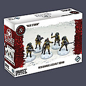 Dust Tactics: Red Guards Assault Squad Red Storm - Fantasy Flight Games