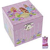 Fantasy Princess Square Musical Jewellery Box