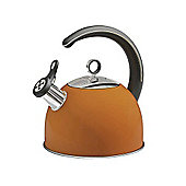 Morphy Richards - Accents 2.5 Litre Orange Whistling Kettle