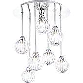 Home Essence Degray 7 Bulb Ceiling Light