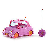 Lalaloopsy Girls Purple Remote Control Convertible Doll Car - 27 MHz