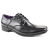 Caravelle Mens Avalon Black Lace-up Formal Shoes
