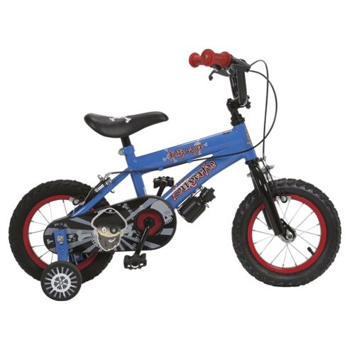 Silverfox Jolly Roger 12 quot  Kids  Bike with StabilisersJolly Roger Kids