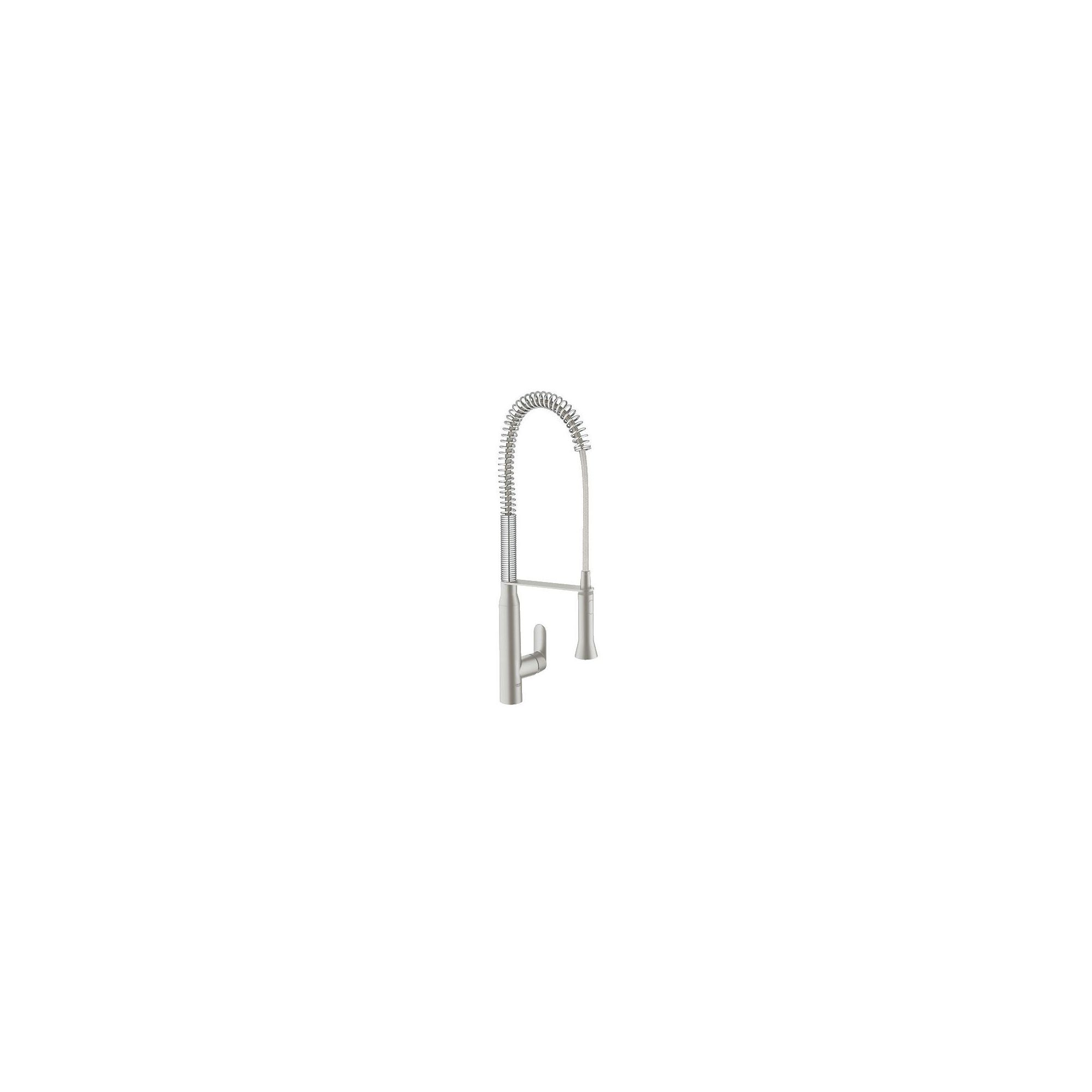 Grohe K7 Professional Mono Sink Mixer Tap, Single Handle, Stainless Steel at Tesco Direct