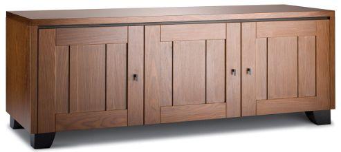 Salamander Designs Geneva 237 Walnut AV Cabinet