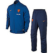 2014-15 Holland Nike Woven Tracksuit (Blue) - Blue