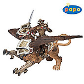 Papo Fantasy - Bird Man And War Griffin