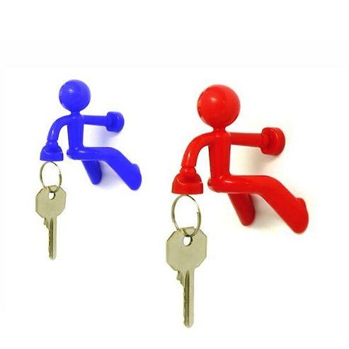 Key Pete Magnetic Key Holder - Red