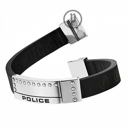 Police Mens Raw Bracelet 24643BLB/01-L