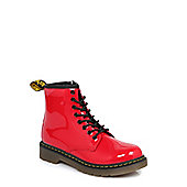 Dr Martens Infants Delaney Red Boots - 1