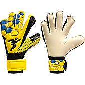 Precision Gk Matrix Box Cut Wet & Dry Goalkeeper Gloves Size - Yellow