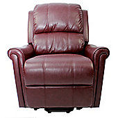 GFA Becky Faux Leather Riser Recliner