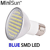 MiniSun ES E27 7.5W R63 SMD LED Spotlight Bulb in Blue