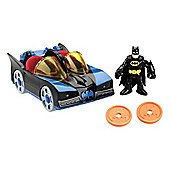 Fisher Price Imaginext DC Super Friends Vehicle Batmobile With Lights