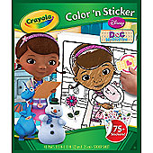 Crayola Doc McStuffins Colour and Sticker Book