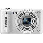 "Samsung WB35F Smart Digital Camera, White, 16.2MP, 12x Opical Zoom, 2.7"" LCD Screen, Wi-Fi"