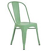 Xavier Pauchard Tolix Style Dining Chair Mint Green
