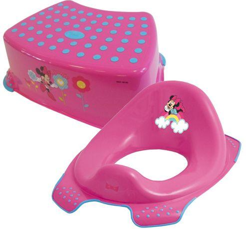 Buy Disney Minnie Mouse Toddler Toilet Training Seat
