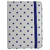 Trendz Kindle Fire HD Blue Stars Case