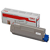 OKI Toner Cartridge For C610 A4 Colour Laser Printers - Magenta