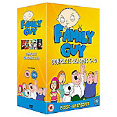 Family Guy: Series 6 - 10 (DVD Boxset)