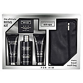 Baylis & Harding Men's Skin Spa Noir Tray Set