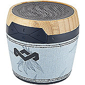 House of Marley Chant Mini BT Portable Speaker (Blue hemp)