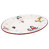 Tesco Christmas Chilli Oval Platter