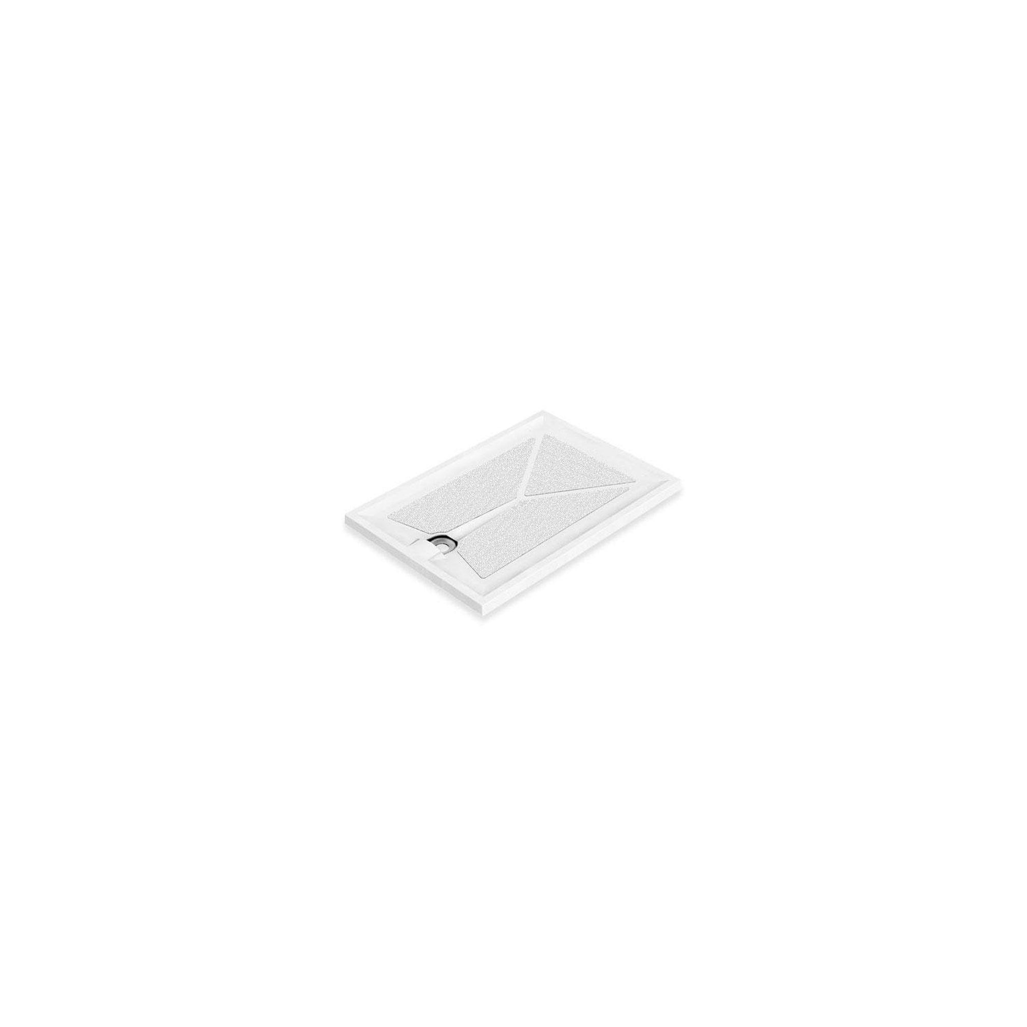 AKW Braddan Rectangular Shower Tray 1200mm x 700mm at Tesco Direct