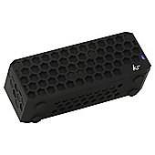 Kitsound Hive Bluetooth Speaker Black