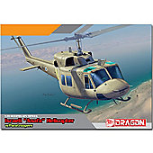 Dragon 3543 Iaf Uh-1N With Paratroopers Helicopter Model Kit