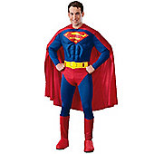 Superman Deluxe Mucle Chest - Adult Costume Size: 38-40