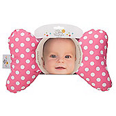 Baby Elephant Ears Neck Support Pink Spot