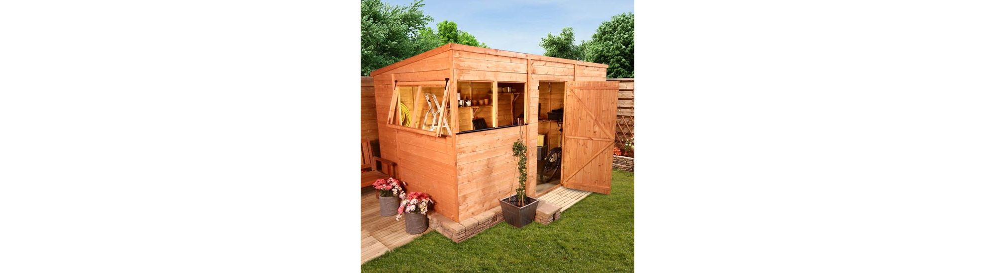 BillyOh 5000 12 x 6 Tongue & Groove Pent Shed