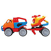Gowi Toys 560-95 Adventure Car with Helicopter