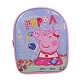 Peppa Pig 'Holiday' PVC Front Backpack