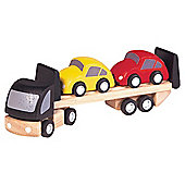 Plan Toys Brio Car Transporter Wooden Toy