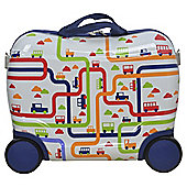 Tesco  Kids Wheelie Case Boy